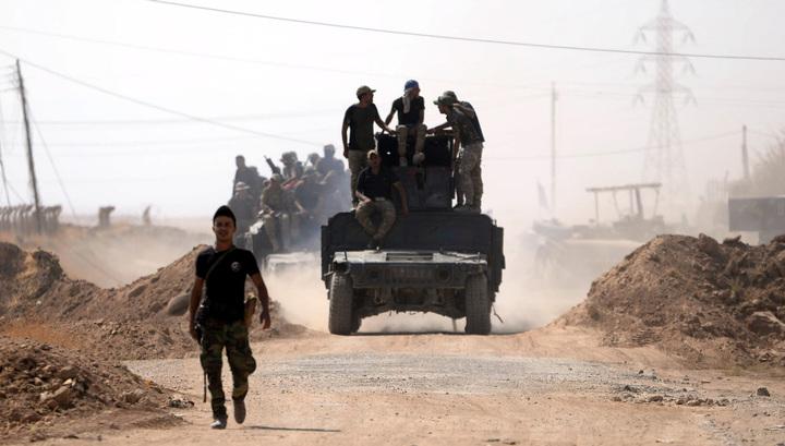 Иракская армия выбила игиловцев из девяти деревень на границе с Сирией