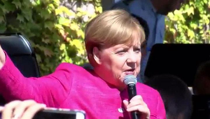 Меркель призналась, что хотела бы иметь хорошие отношения с Россией