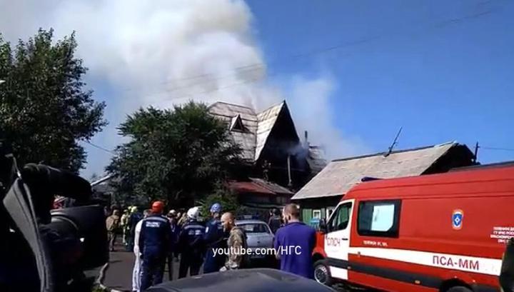 Дом престарелых красноярск горит автономные дома интернаты для престарелых