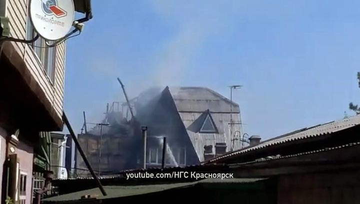 Дом престарелых в красноярске сгорел дом совместного проживания для пожилых