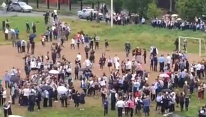 Нападение в Ивантеевке: испугавшись дыма и пистолета, школьники стали выпрыгивать из окон