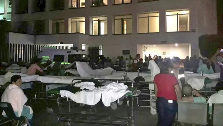 Два человека стали жертвами землетрясения в Мексике