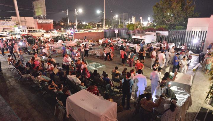 Растет число жертв землетрясения в Мексике