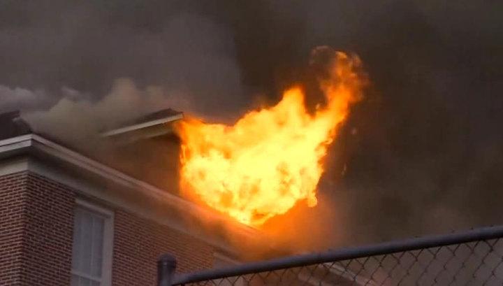 Во Флориде сгорела начальная школа имени генерала конфедератов Роберта Ли