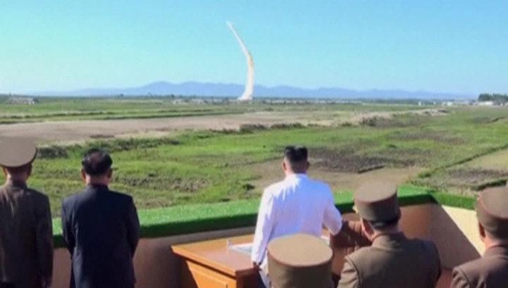 Северная Корея ответила на санкции ракетным пуском