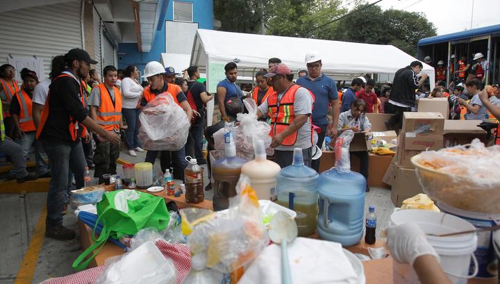 Мексика восстанавливается после разрушительного землетрясения