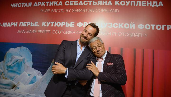 Себастьян Коупленд и Жан-Мари Перье открыли две фотовыставки в Центре фотографии им. Братьев Люмьер