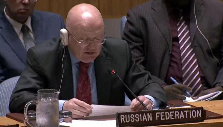 Небензя: Россия пытается прекратить войну в Сирии