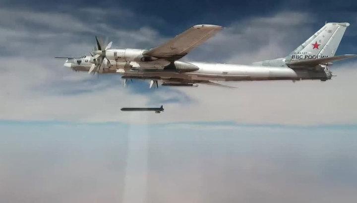 Российские стратеги ударили по ИГИЛ высокоточными ракетами