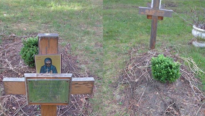 Могила Березовского на лондонском кладбище удивила своей запущенностью