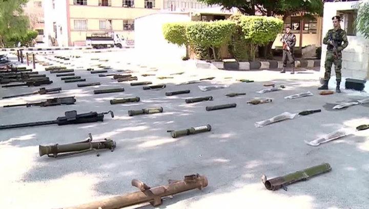 Оружие боевикам ИГИЛ в Сирии поставляется из США, Бельгии и Франции
