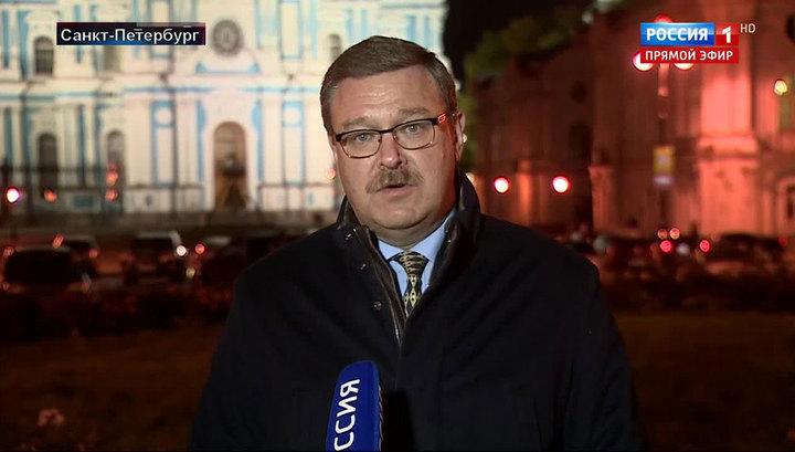 Косачев: что у европейских политиков на уме, то у Земана - на языке