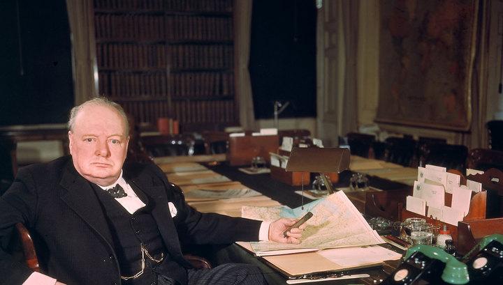 Последняя картина Черчилля продана на аукционе почти за полмиллиона долларов