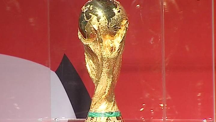Сувениры к чемпионату мира-2018: фарфоровый Кубок мира из Подмосковья