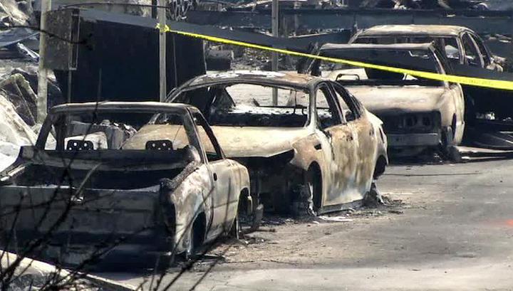 Пожары в Калифорнии: число жертв растет