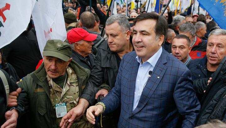Саакашвили анонсировал