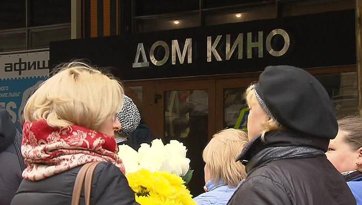 Последняя овация: в Москве простились с Дмитрием Марьяновым