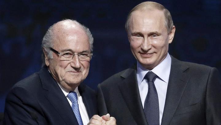 Бывший президент ФИФА Блаттер посетит матч сборных Португалии и Марокко