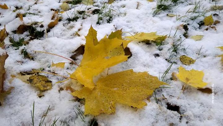 Погода в Москве: до первых сугробов остается меньше недели