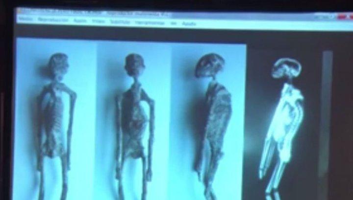 """В Перу обнаружены тела """"пришельцев"""""""