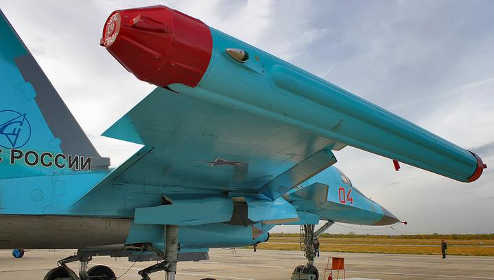 Военным передали первую в 2018г.  партию бомбардировщиков Су-34