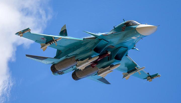 Российская армия получила партию истребителей-бомбардировщиков Су-34