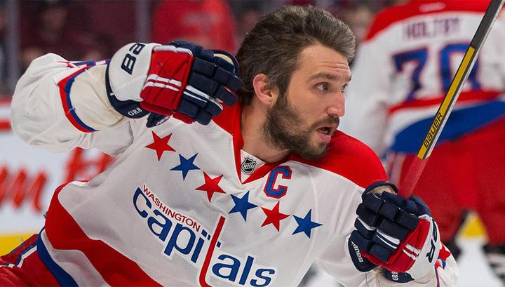 Овечкин вошел в восьмерку россиийских игроков НХЛ по передачам