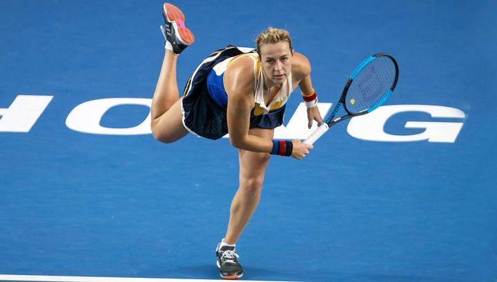 Павлюченкова обыграла Квитову и вышла в четвертьфинал турнира в Китае