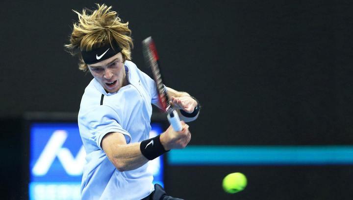 Рублев сразится с Циципасом в полуфинале ATP Next Gen Finals
