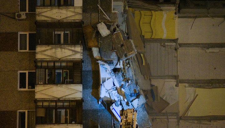 Частично обрушившийся дом в Ижевске вновь подключат к коммуникациям