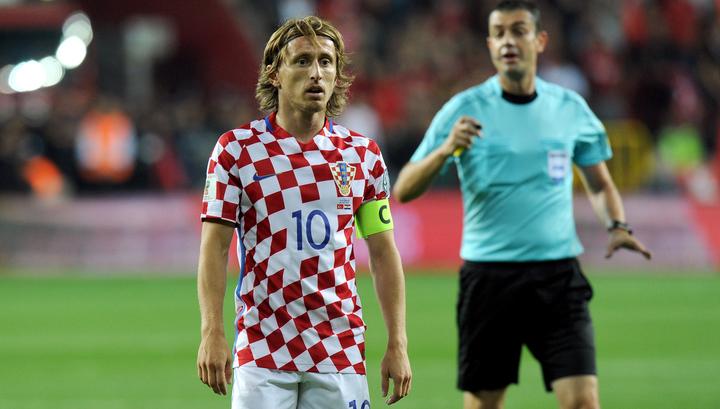 Лука Модрич: мы ожидаем сложный матч против россиян