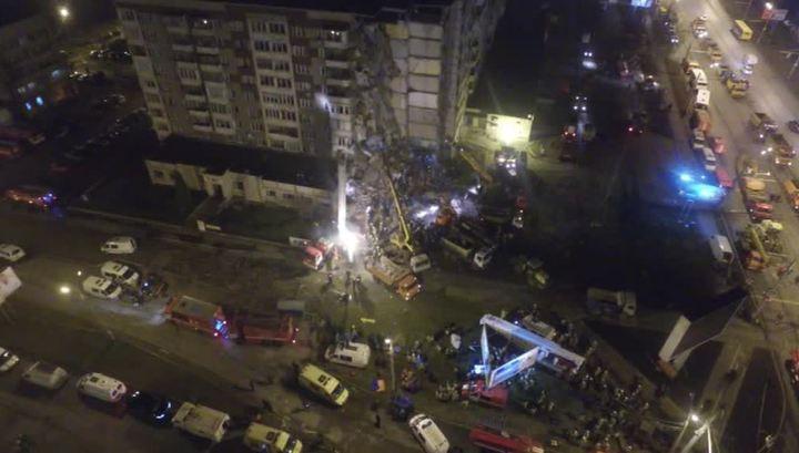 Число жертв обрушения подъезда жилого дома в Ижевске увеличилось до 7 человек