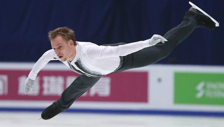 Фигурист Сергей Воронов выступит в финале серии Гран-при