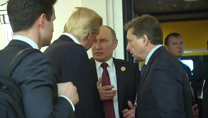 """Путин отверг любую возможность """"вмешательства РФ"""" в американские выборы"""