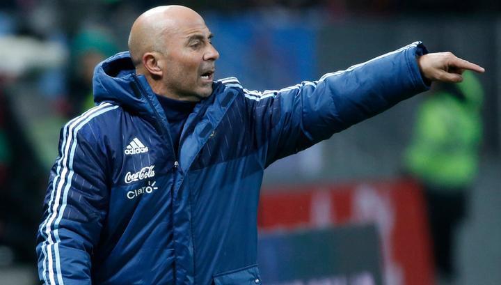 Тренер Аргентины Сампаоли: мы играли с очень организованной командой