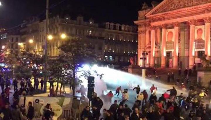 Марокканцы отпраздновали победу сборной разгромом Брюсселя
