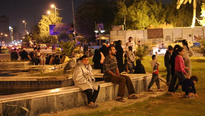На ирано-иракской границе произошло мощное землетрясение
