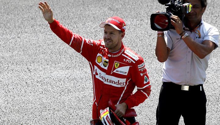 Формула-1. Себастьян Феттель выиграл Гран-при Бразилии