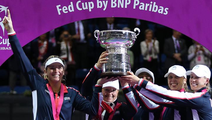 Теннисистки США выиграли Кубок Федерации