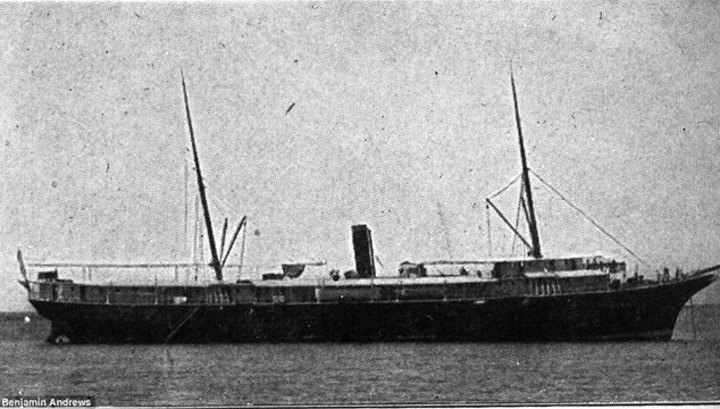 Найден затонувший в 1922 году пароход, на котором погибли почти 400 человек