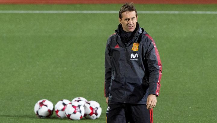 Тренер Испании Лопетеги: можем попасть с Россией в одну группу