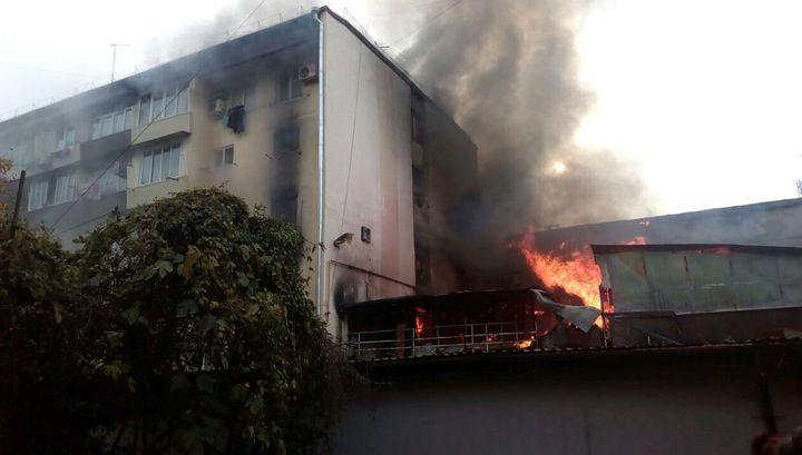 Пожар в Сочи: есть жертвы и пострадавшие
