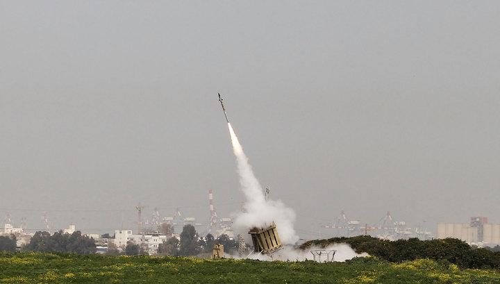 Военные Израиля сбили ракету, выпущенную из сектора Газа
