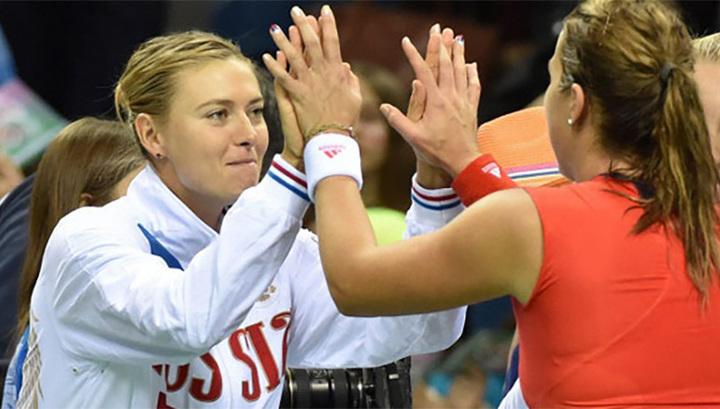 Анастасия Мыскина: я рассчитываю на Шарапову в Кубке федераций