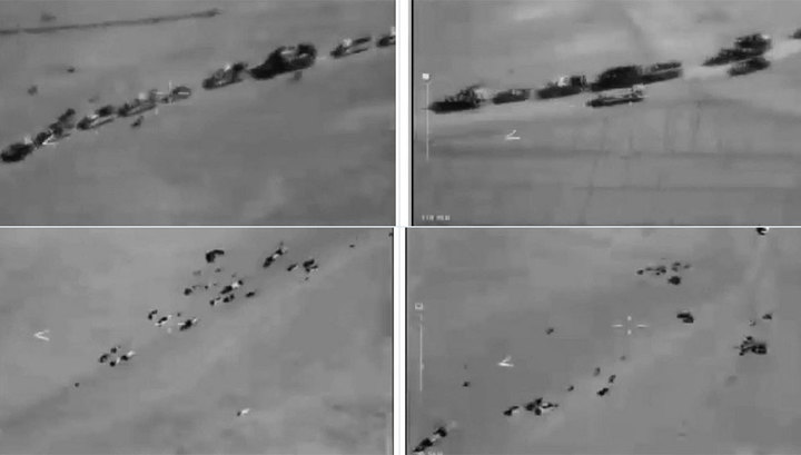Минобороны России опубликовало доказательства сотрудничества США с ИГИЛ