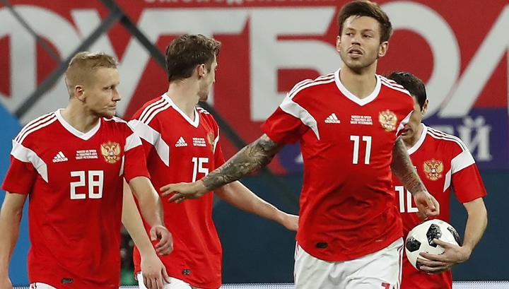 Россия – Испания – 3:3. Голевая