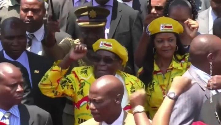 Грейс Мугабе уехала из Зимбабве