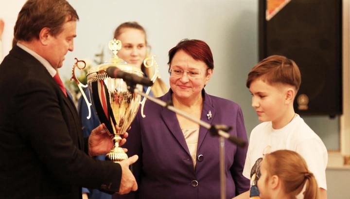 Звезды спорта поздравили призеров Спартакиады