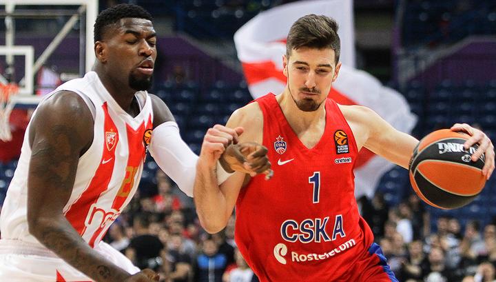 Баскетбольный ЦСКА в Белграде разгромил