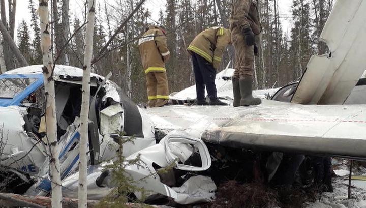 Самолет упал под Хабаровском из-за отказа правого двигателя